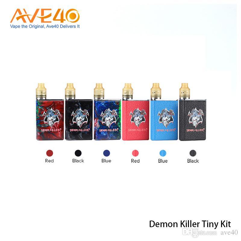 Demon Killer Tiny Kit 800mAh Battery Body with Tiny RDA 510 Connector Build Deck 100% Original
