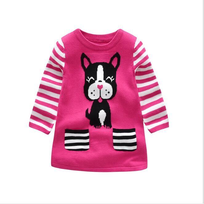 7d11d191c save off c4100 8a871 online kids girls knit sweater dresses baby ...