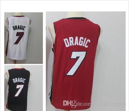 7 Goran Dragic Men s Basketball Jerseys 2018 New Season Fashion Player  Version Mens Polo Shirt White Red Black Men Sport Jersey Dragic Dragic  Basketball ... 909d63a04