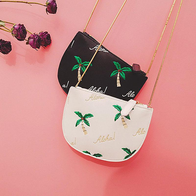 aa06058349b0 Yesello Women Embroidery Coconut Tree Clutch Bag Purse Handbag Designer  Handbags High Quality PU Leather Crossbody Bags Designer Handbags On Sale  Purses On ...