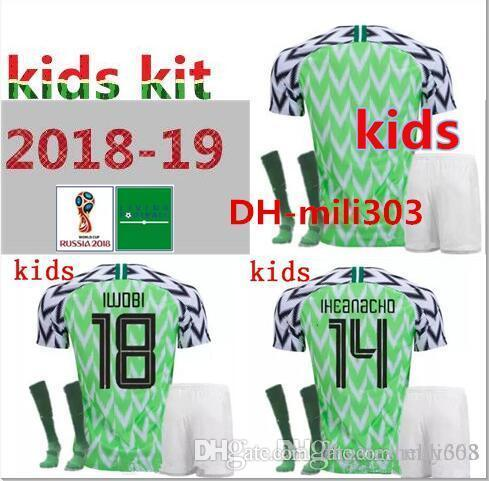 AAA+ 18 19 World Cup Futbol Kids Soccer Jerseys Football Camisetas ... f592780b0