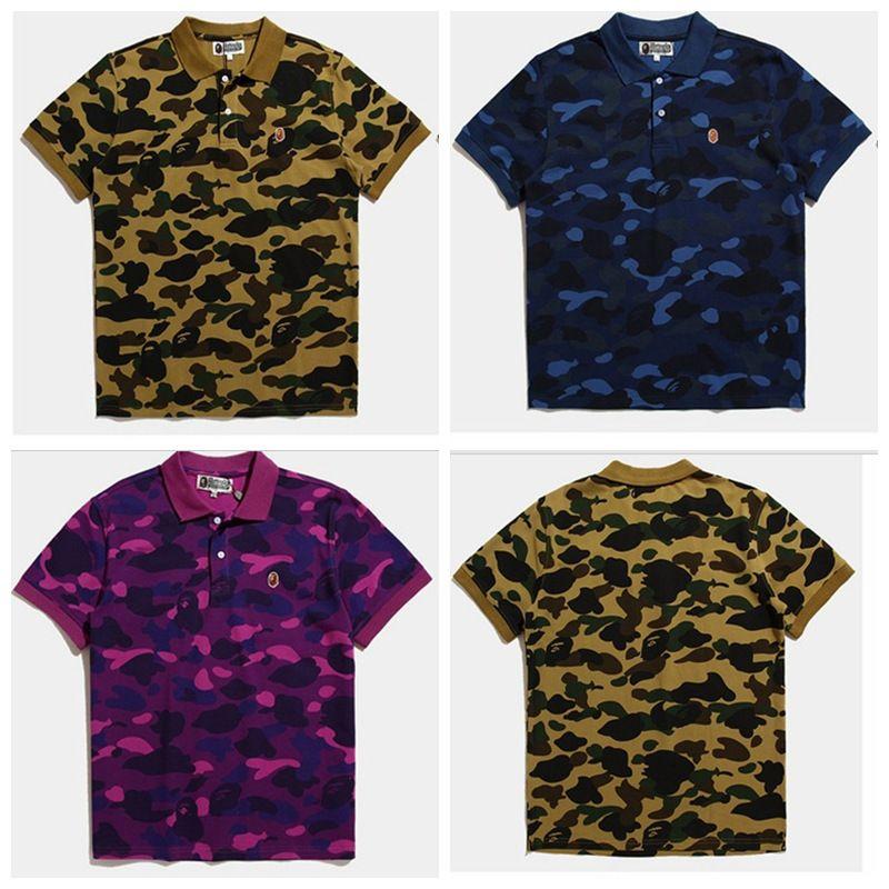 Beatles T Shirt Spring Xia Xinkuan Mens Wear Tide Brand Camouflage