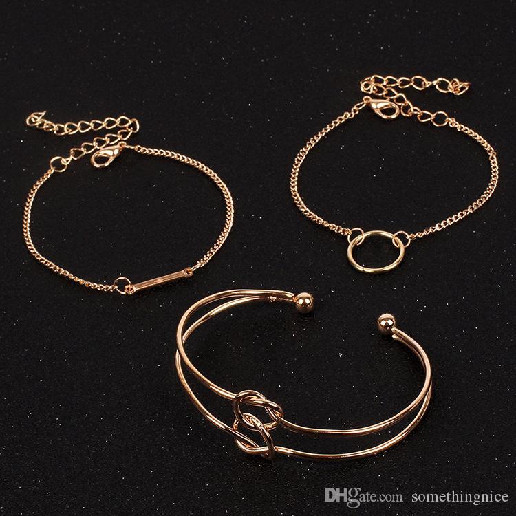 Bracelets Nouveaux Laiton En Mode 2018 Cuivre Acheter Bijoux De HWY29EID
