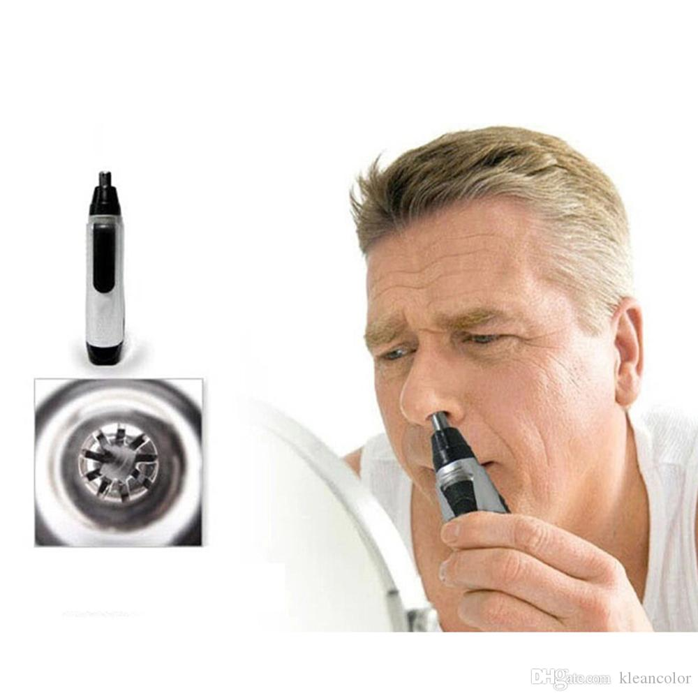Electric Shaving Nose Hair Trimmer Safe Face Care Razor Nose Clipper