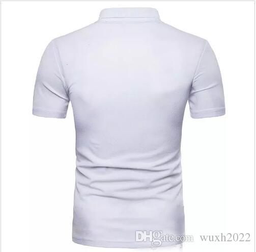 hot sale new Men Summer Fashion Casual Short-sleeved Slim Men T-shirt Brand Casual T-shirts Tops Tees Round neck T-shirt
