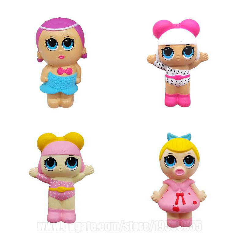 Dolls Squishies Surprise Squishy Slow Rising