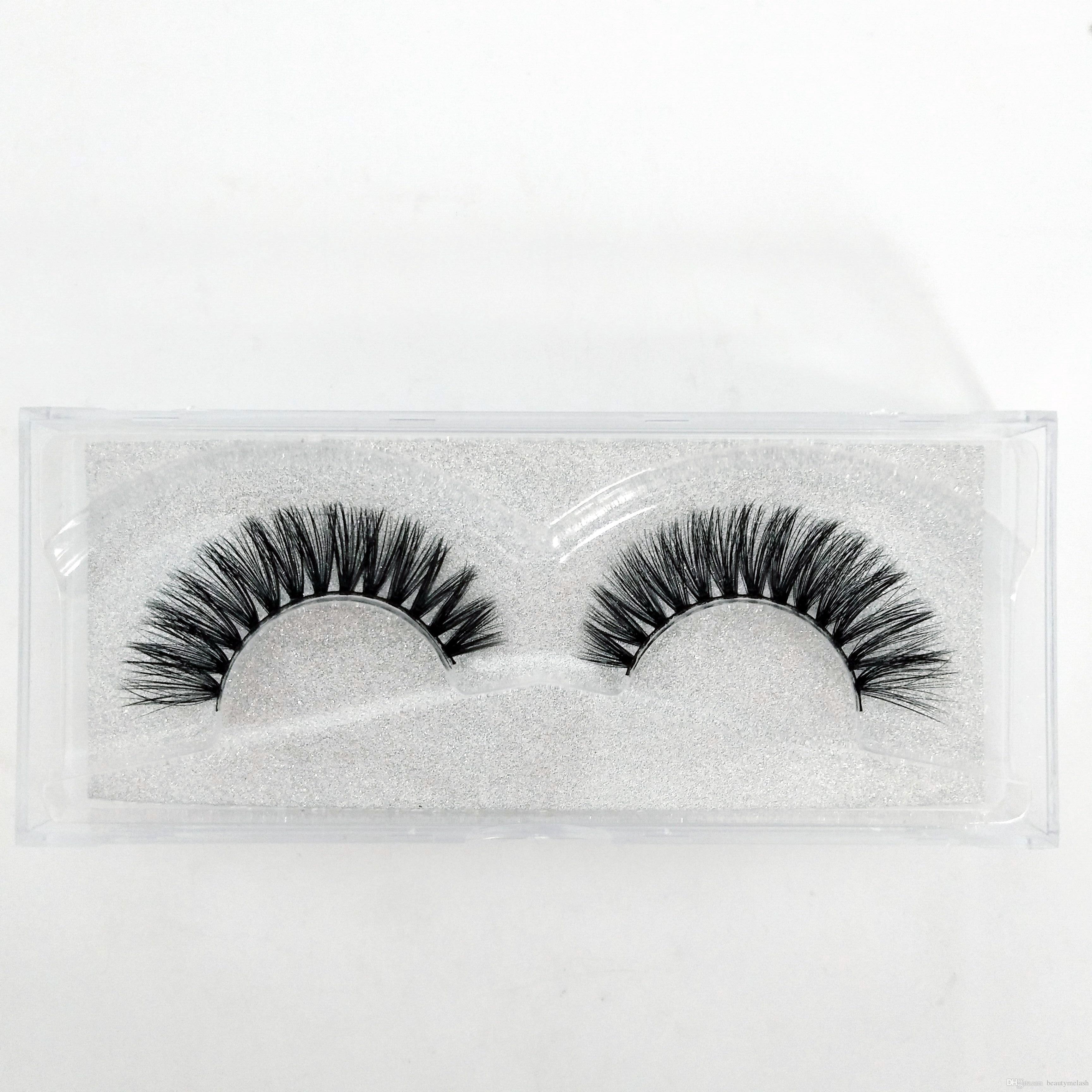 c1d6b59ce57 Hot Sale 3D Mink False Eyelashes Handmade Natural Long Curl Thick ...
