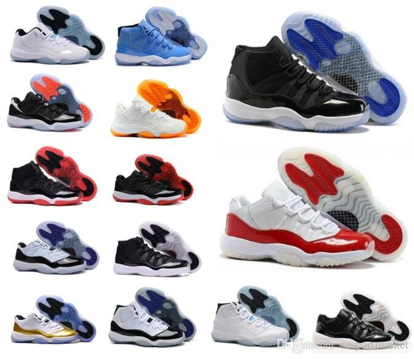 High Quality 11 11s Space Jam Bred Concord Basketball Shoes Men ... 174e2542962c