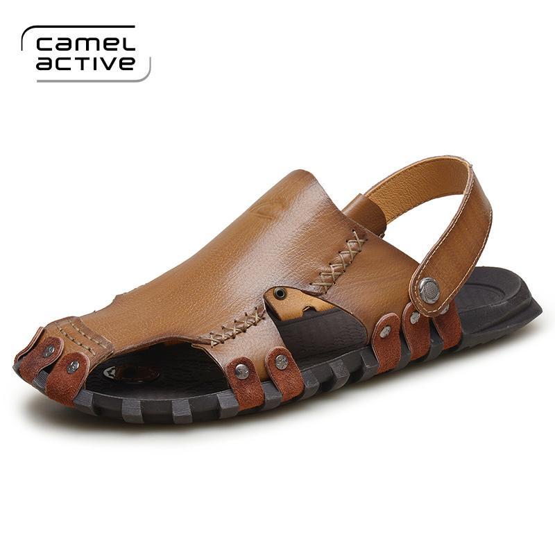Camel Active Men Summer High New Men Genuine Quality Leather Sandals xeEdoBWQrC