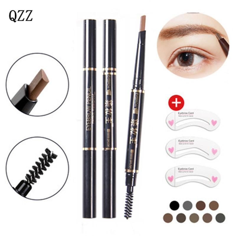 0.99USD Brand Makeup Eyebrow Automatic Pro Waterproof Pencil Makeup 5 Style Paint Eyebrow Pencil Cosmetics Brow Eye Liner Tools