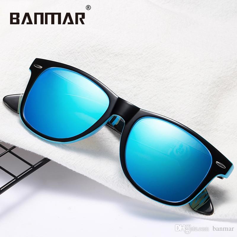 Compre Banmar Homens Polarizados Óculos De Sol Retro Designer De Marca De  Luxo Mulheres Óculos De Sol Para O Sexo Masculino Senhora Oculos De Sol  Feminino ... c87184c405
