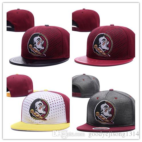 online store d8ee5 266a3 Wholesale 2018 New Style Cheap Florida FSU Hat State Seminoles Basketball  Caps,Snapback College Football Hats Adjustable Cap 59fifty Snapback Cap  From ...