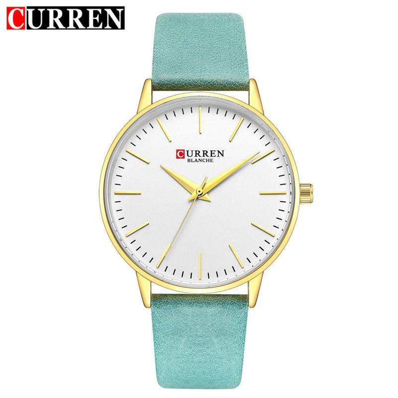 f95821d5f6b CURREN Fashion Ladies Watches Leather Bracelet Women Watch Elegant Casual  Black Female Wristwatch Waterproof Clock Montre Femme Wrist Watches Online  Wrist ...