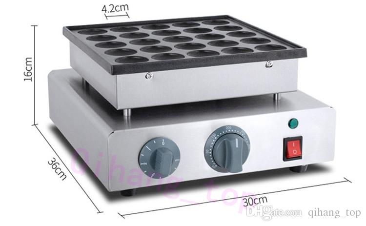 Qihang_top Hot Sale Commercial Use 220v Electric Red Bean Waffle Pancake Dorayaki Baker Maker Machine