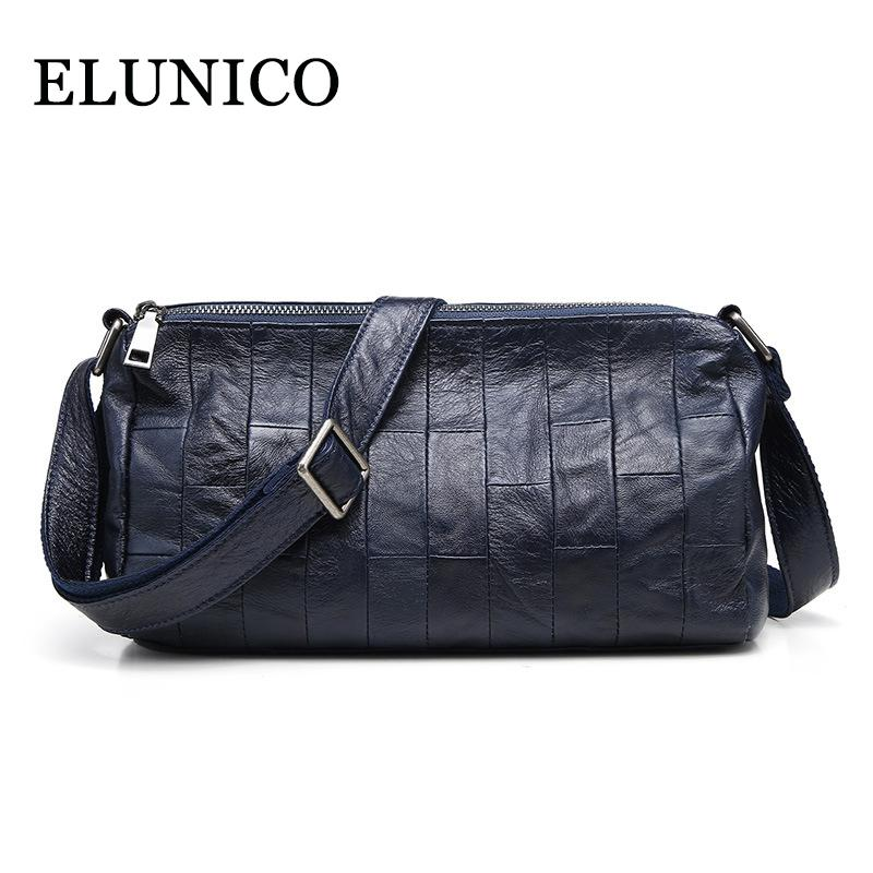 ELUNICO 2018 Summer Small Genuine Leather Women S Shoulder Bag Ladies  Fashion Casual Crossbody Messenger Bag Bolsa Sac A Main Wholesale Bags Over  The ... 0797f2ad08a81