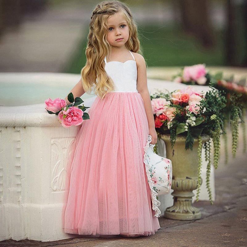 Vestido Boda Niño Compre Niñas Princesa Bebé Pequeño De Fiesta TdvOqvwx6