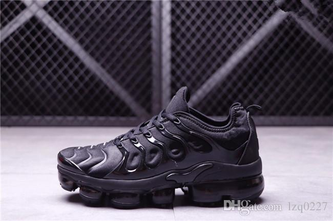 online store 39964 0b79e 2018 New Vapormax TN Plus Olive para hombre Zapatillas deportivas  Zapatillas de deporte Hombres Run In Metallic White Silver Colorways para  Male Shoe ...