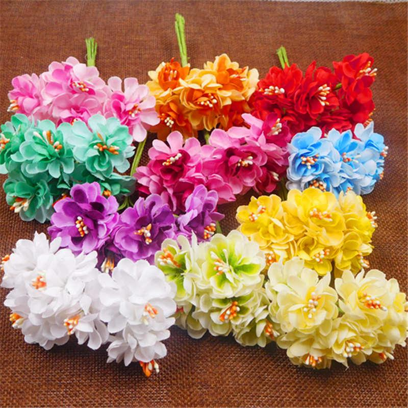 2018 Cheap Silk Stamen Artificial Flowers For Home Wedding ...
