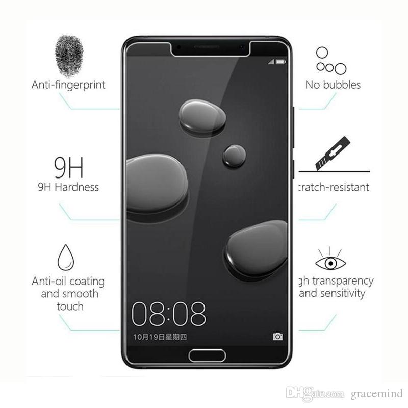 Huawei Mate 10 Pro Glass Tempered Glass For Huawei Mate 10 Lite Screen Protector Transparent Protective Glass Film