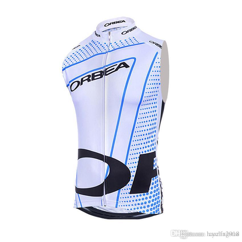 ae41f0ab5 2017 New ORBEA Cycling Sleeveless Jersey Cycling Vest Summer Style ...