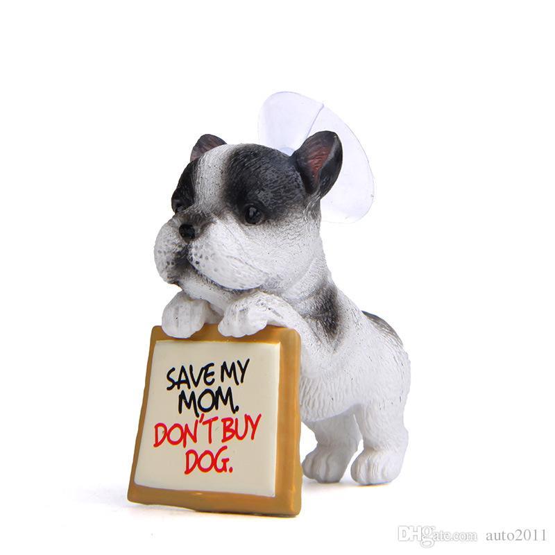 Acquista bambole del cane adorabile bulldog francese che si leva in