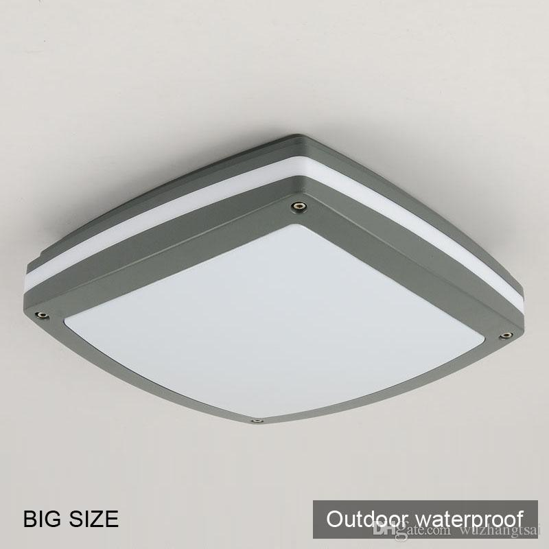 Großhandel Große Quadratische Moderne Deckenleuchte Lampe Badezimmer ...