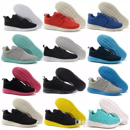 7c93ae2b0f25a Wholesale Classical Run Running Shoes Men Women Black Low Boots ...