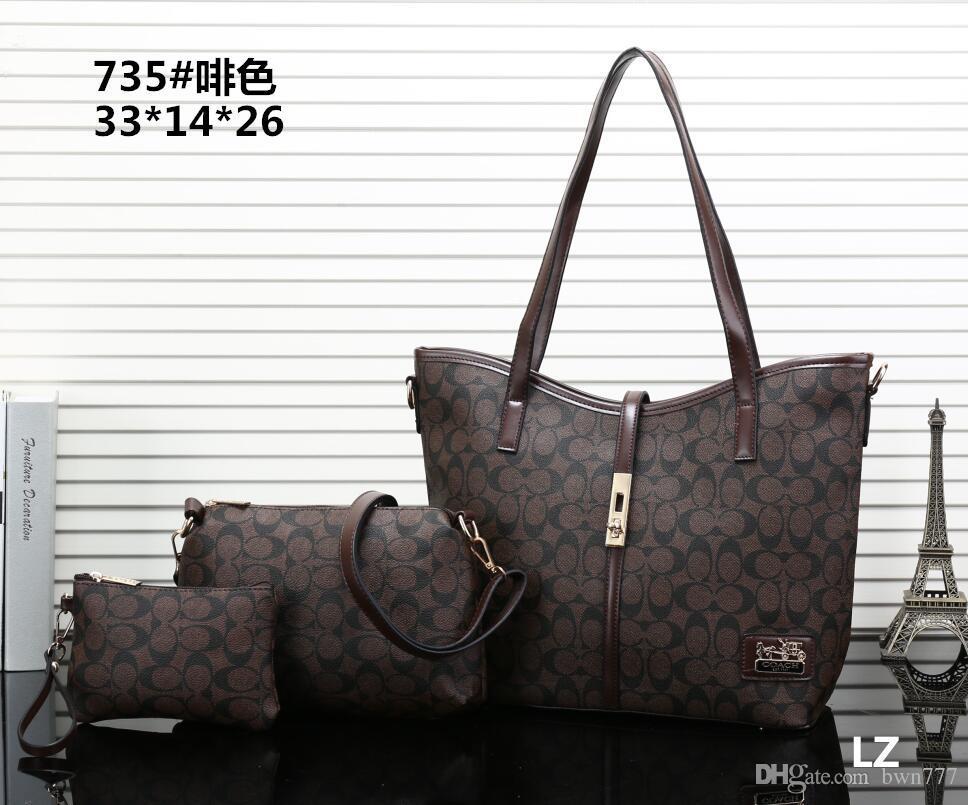 88d551a79 High Quality Fashion Women'S PU Leather Handbag Double Flap Shoulder Bags  Quilted Chain Tote Bag Purse Wallet Handbag Purse 03 Designer Handbags  School Bags ...