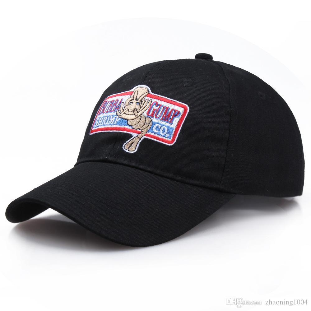3b30c508 1994 BUBBA GUMP Cap SHRIMP CO. Truck Cap Adults Mens Womens Sport Summer  Adjustable Strapback Baseball Cap Forrest Gump Caps Hat Sun Visor Leather  Hats The ...
