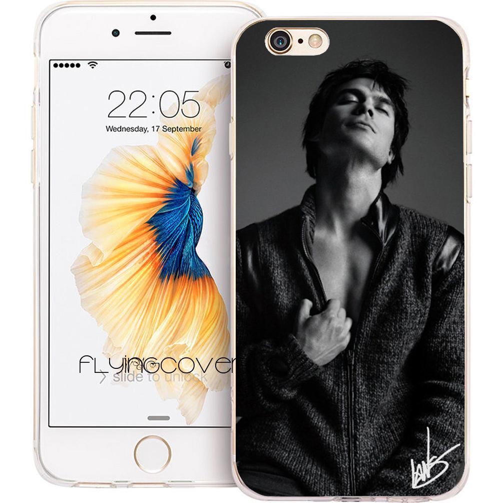 Hülle Gestalten Vampire Diaries Damon Handy Cover Für Iphone 10 X 7