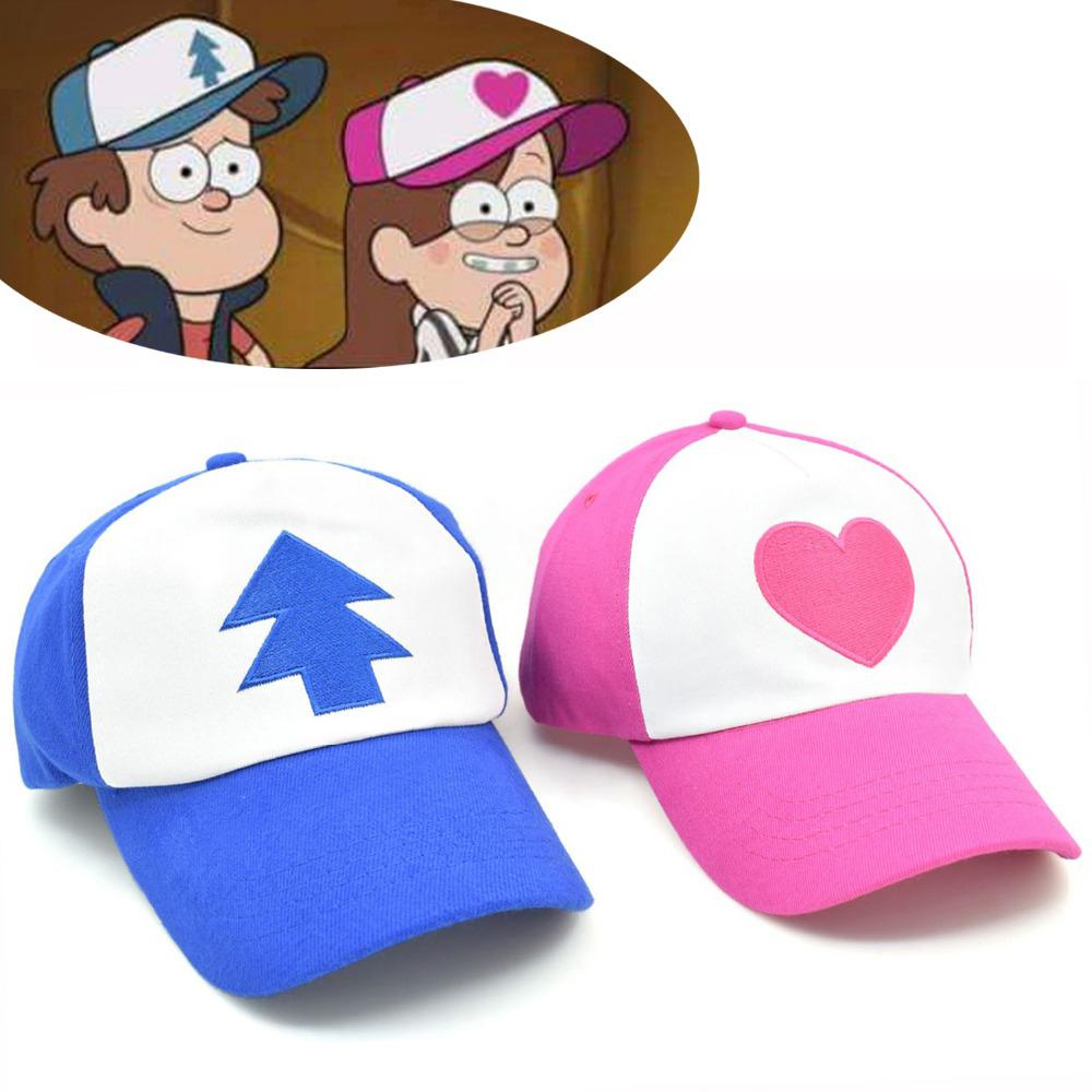 6d299bc74ef Cool New Spring Summer Gravity Falls U.S Cartoon Mabel Dipper Pines Cosplay  Cool Baseball Mesh Caps Adjustable Sport Hat Cool Hats Lids Hats From  Jianyue16