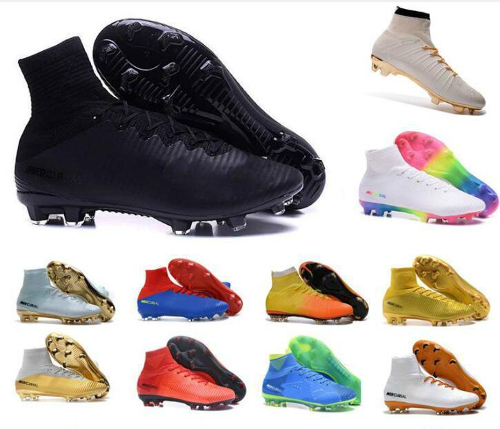 ... Mens Mercurial Superfly CR7 V AG FG Football Boots Ronaldo High Ankle  Magista Obra II ACC ... 031dbe068c94