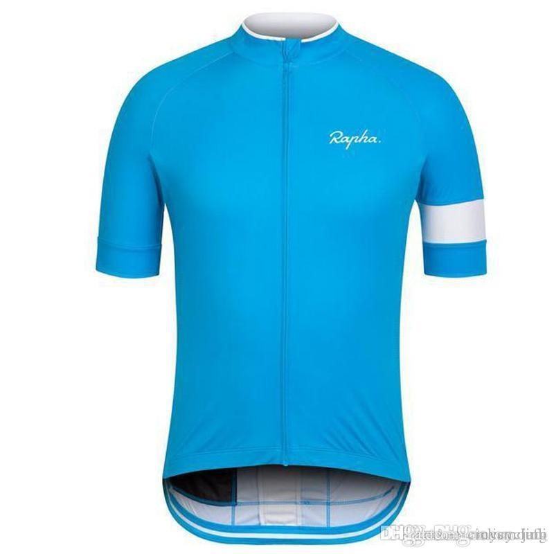 RAPHA Cycling Jersey Short Sleeve Jersey Men Summer Bicycle Bike Jersey  Cycling Clothing Road Mountain Riding Mtb Shirt Male F2707 RAPHA Cycling  Jersey Men ... 180f80492
