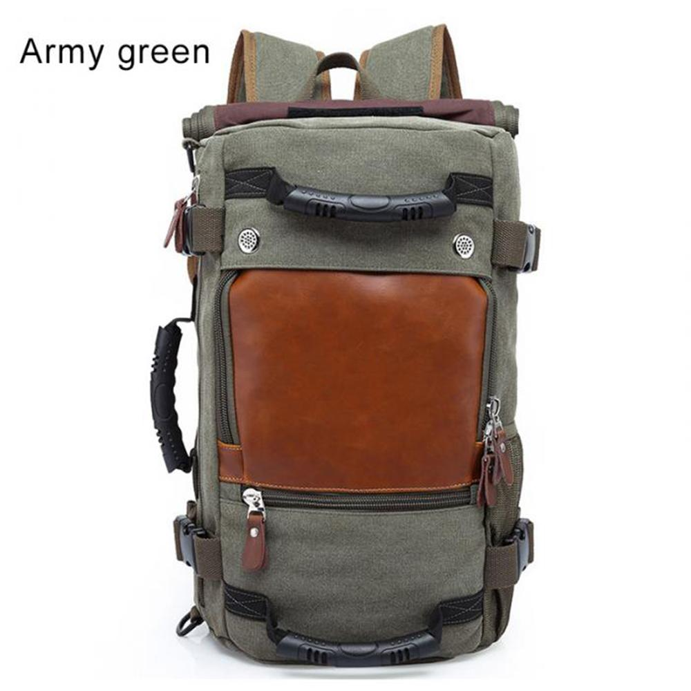 9f06bc58c348f Men Backpack Large Capacity Travel Bag Male Luggage Canvas Backpack  Shoulder Computer Backpacking Functional Laptop Ship from RU Backpacks  Cheap Backpacks ...