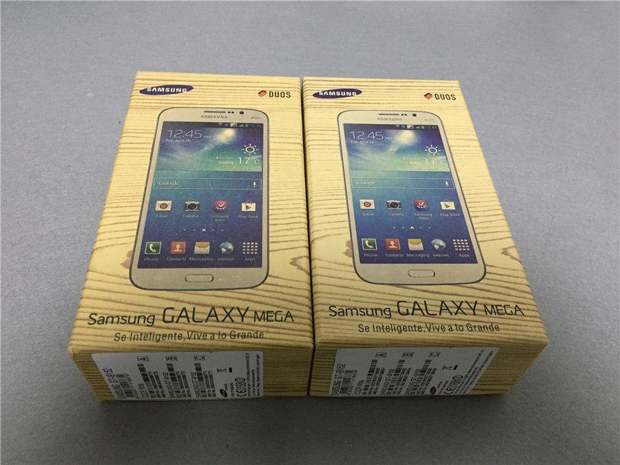 Refurbished Original Samsung Galaxy Mega 5.8 i9152 Dual SIM 5.8 inch Dual Core 1.5GB RAM 8GB ROM 8MP 3G Unlocked Android Phone DHL