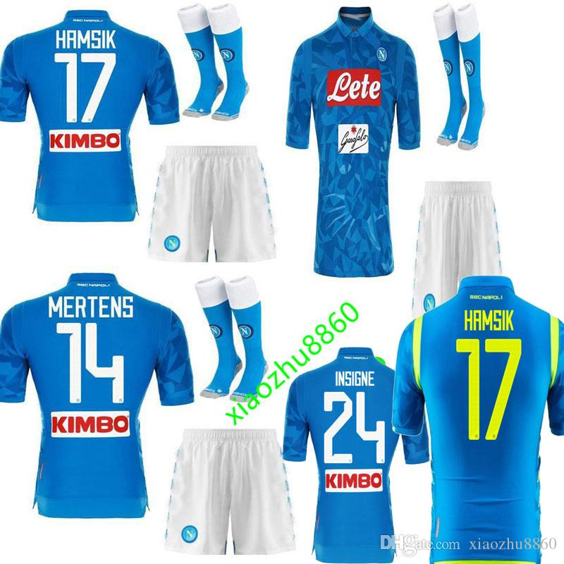 545251edd 2019 Adult And Kids 18 19 Napoli Soccer Jersey Home 2018 2019 Naples  ZIELINSKI HAMSIK INSIGNE MERTENS CALLEJON PLAYER ROG Football Shirts From  Xiaozhu8860