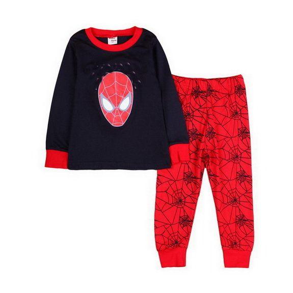 7340d1fb0 Baby Boy Pajama Set Cartoon Kids Sleepwear Girls Cute Home Nightgown Children  Pajamas Set Girls Cotton Pyjamas Size 2 7Y A64 Cotton Pjs For Boys Cheap  Boys ...