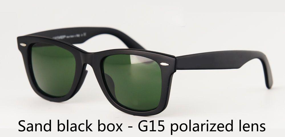 ücretsiz kutu ve etiket ile marka tasarımcısı Polarize Güneş Gözlüğü Erkek Kadın 50 / 54mm UV400 Ayna polaroid lens Retro Vintage güneş Gözlükler Tasarım gözlükleri
