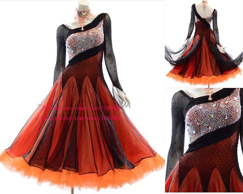 5988808e4246f 2019 New Design Standard Ballroom Dance Dress High Quality Elegant Ballroom  Dress Waltz Ballroom Competition Dance Dresses Women From Cocktailfashion,  ...