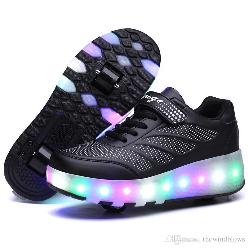 Led Con Zapatos Luz De Para Deportivas Compre Niños Zapatillas tAwffX