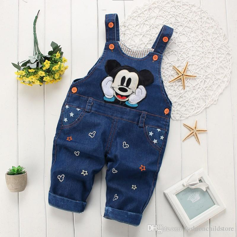 bbec44952 Spring Autumn Fashion Leisure Pant for Baby Girls Boys Bib Overall ...
