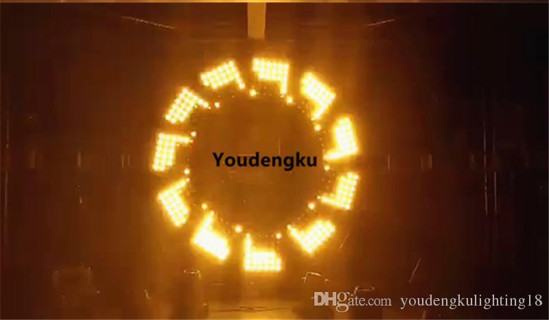 new products background lighting golden 36x3w Amber Led blinder beam light 6x6 led gold matrix light
