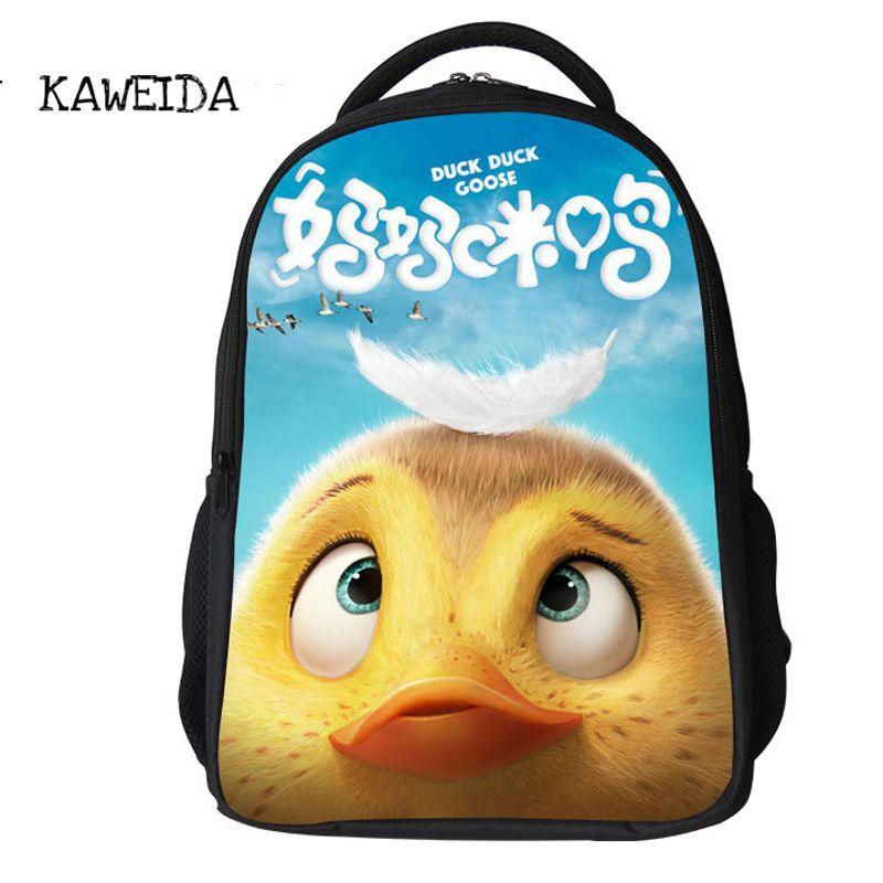 2018 Hot Duck Duck Goose School Bags For Pupil Toddler Boys Girls Cute  Cartoon Character Bagpack Teen Schoolbag Kids Travel Bag Book Bags School  Backpacks ... c865d8ec0c2f7