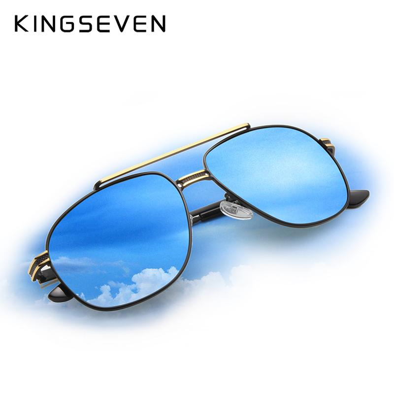 23ac8daf44 X KINGSEVEN Brand Classic Polarized Sunglasses Men Driving Alloy ...