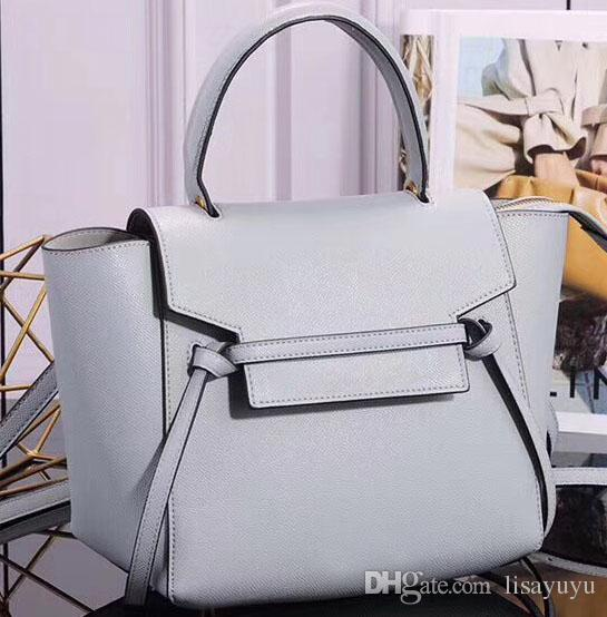 Women Designer Handbag Top Quality Fashion Cowhide Tote Bags With Gold Lock  And Zipped Back Pocket 83504f9bb6