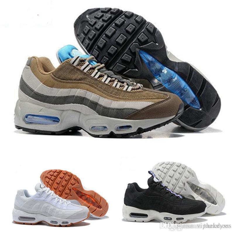 e13e4924c Nike 95 Off White Adidas Yeezy Supreme Venta Caliente Zapatillas De Deporte  De Los Hombres Cojín OG Zapatillas De Deporte Botas 95s Auténticos Nuevos  ...