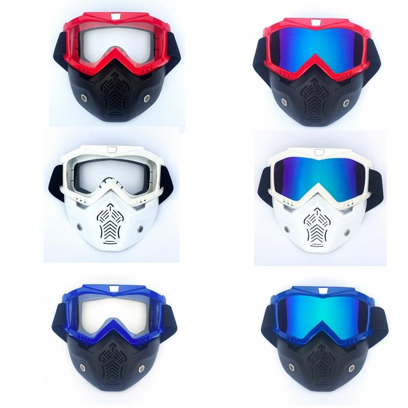 32babd936c Ledarnell Ski Skate Motocicleta Gafas Motocross Gafas Casco Gafas A Prueba  De Viento Fuera De Carretera Moto Cross Cascos Máscara Gafas Por Roadsun,  ...