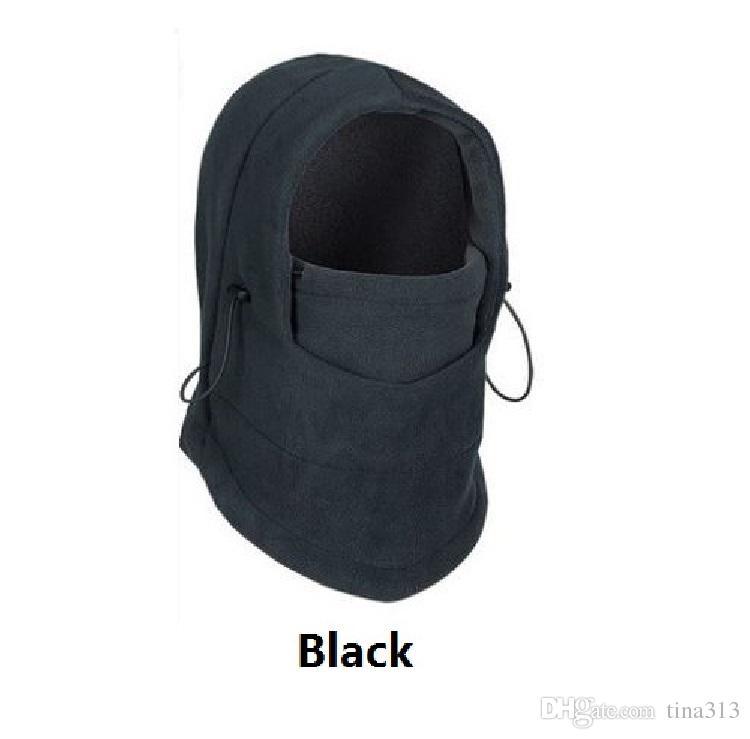 Chapéu de Inverno ao ar livre Ciclismo protege o rosto para se aquecer O chapéu mascarado Ciclismo de inverno anti-vento cs chapéu T4H0091