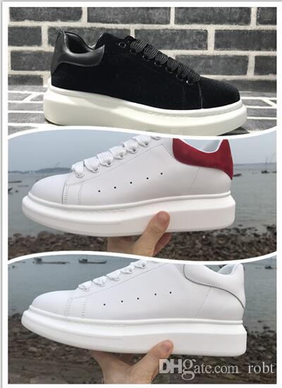 low priced b540b 489c5 Velvet Black Mens Womens Queen Shoe Beautiful Platform Casual Sneakers  Luxury Designers Shoes Leather Solid Colors Dress Shoe Sports Luxury Mens  Womens ...