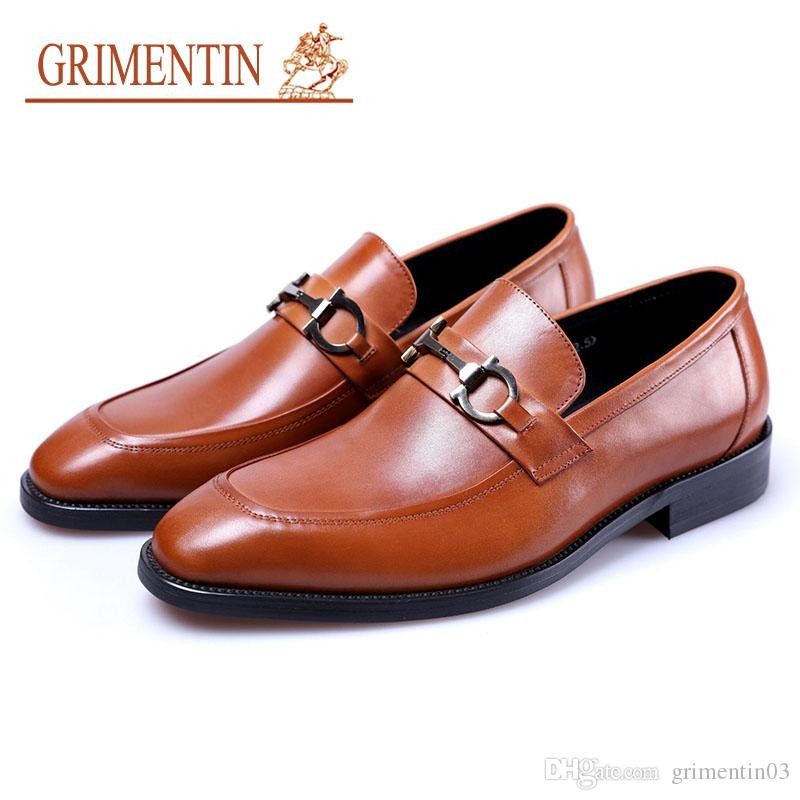 dc12ccd73588 Grimentin Mens Shoes Dress Luxury Designer Formal Business Office ...
